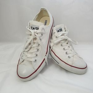 All Star White unisex Converse Lo top